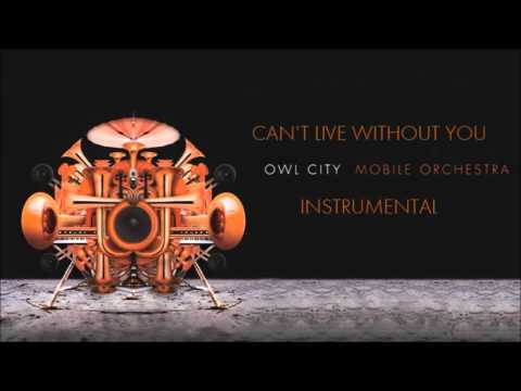 Owl City - Can't Live Without You (Instrumental)