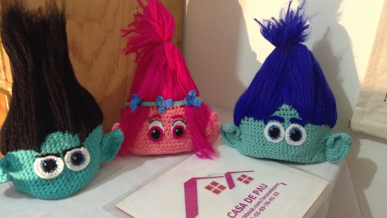 Trolls Crochet Pattern Amazing Decorating Design
