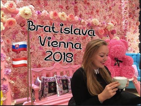 Bratislava & Vienna 2018 - Christmas and Winter holiday VLOG