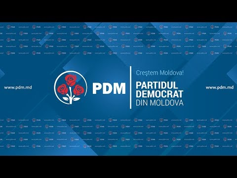 Conferinta 13.03.2018  Partidul Democrat din Moldova