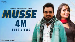 Musse - Full Song | Surender Romio, Ruchika Jangid | Anney Bee | New Haryanvi Songs Haryanavi 2020