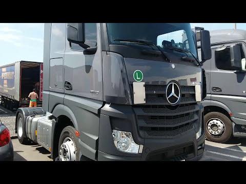 Mercedes Actros Euro 6