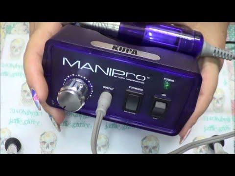 My New Kupa Original Manipro Electric Nail Drill Demo