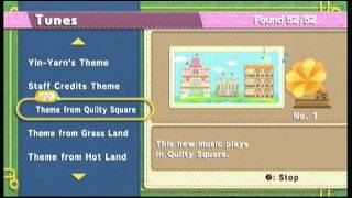 Kirby Epic Yarn - Theme from Quilty Square