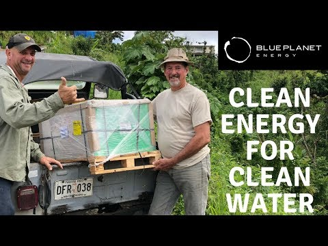 Blue Planet Energy Brings Clean Energy and Water to Puerto Rico