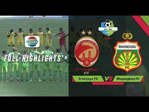 SRIWIJAYA FC (2) vs BHAYANGKARA FC (1) - Full Highlights   Go-Jek LIGA 1 bersama Bukalapak