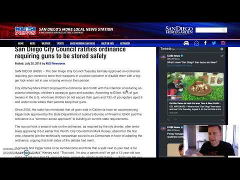 San Diego Gun Ordinance Unconstitutional?