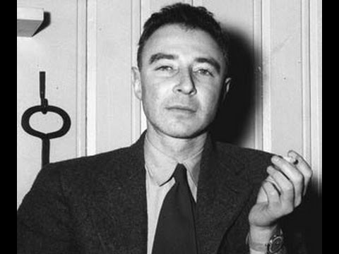 Robert Oppenheimer speaking at UCLA 5/14/1964