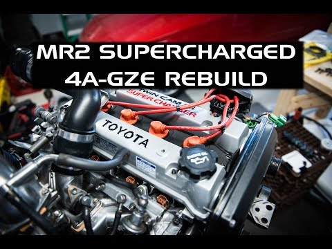 Фото к видео: 4A-GZE Engine Rebuild