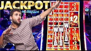 ★ JACKPOT ★  **FULL SCREEN WILDS** THE WALKING DEAD 2 slot machine HANDPAY and more WINS!