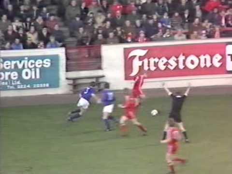 Aberdeen v Rangers 12 Jan 1980