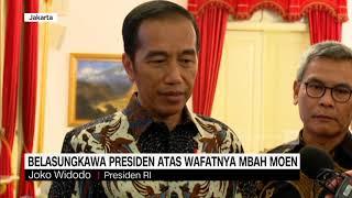Ucapan Belasungkawa Presiden Atas Wafatnya Mbah Moen