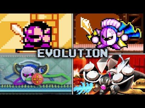 Evolution of Meta Knight Battles (1993 - 2016)