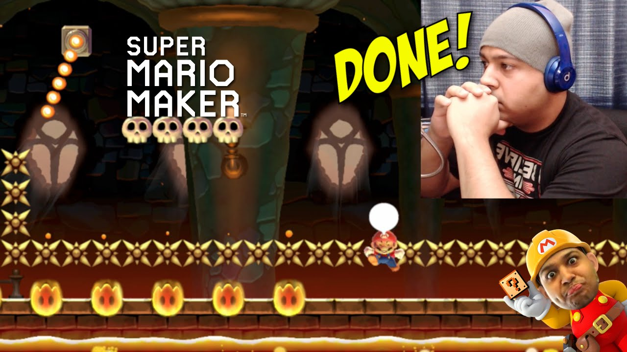 I'M DONE WITH YALL! [SUPER MARIO MAKER] [#20]