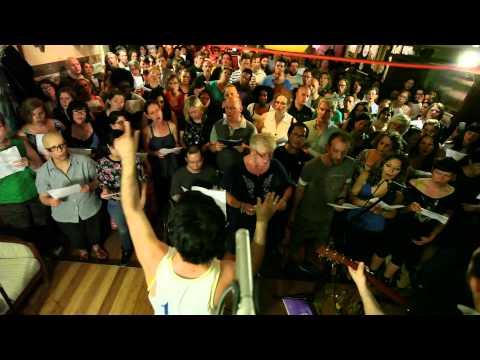 Choir! Choir! Choir! sings Neil Diamond - Sweet Caroline