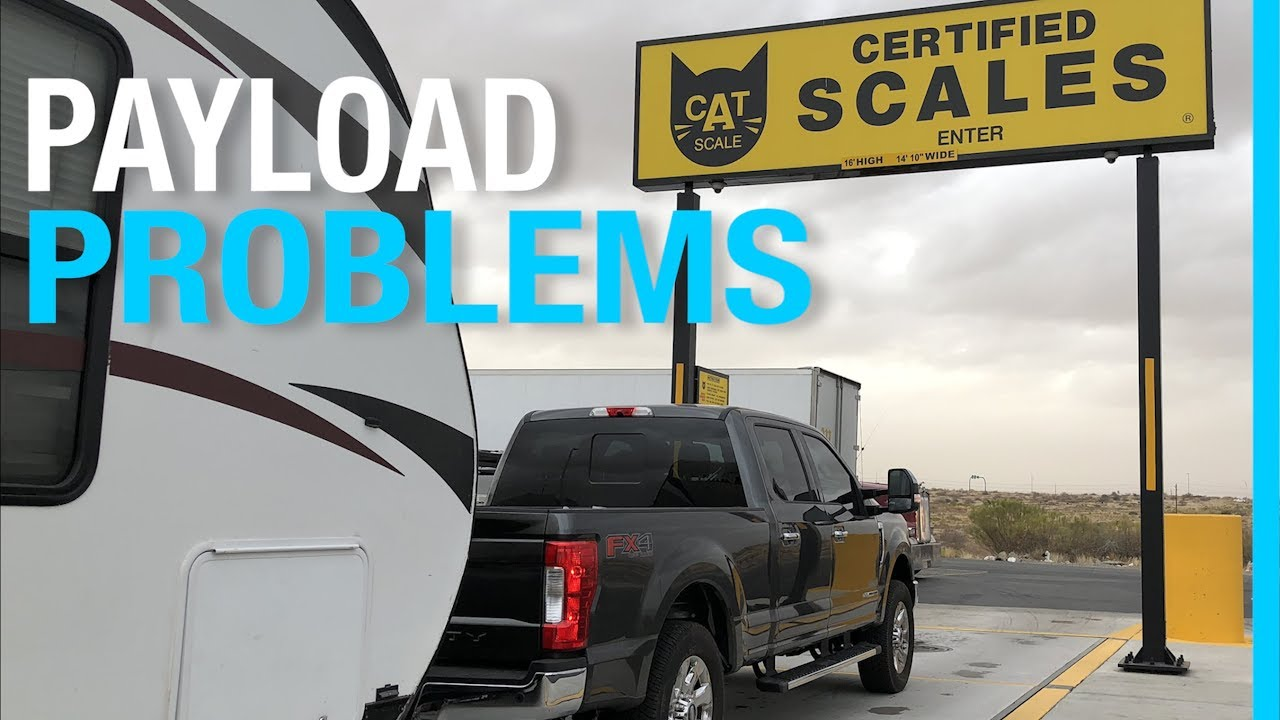 Payload Problems How Much Can I Really Tow Rv Truck Trailer