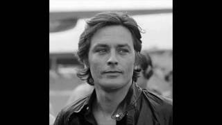 Alain Delon - from the 50ies to today