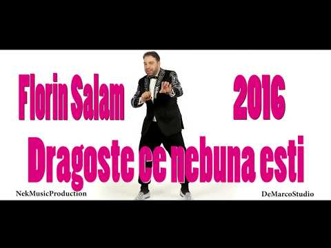 Florin Salam - Dragoste ce nebuna esti [oficial audio] hit 2016