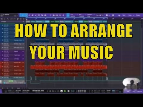How to Arrange YOUR MUSIC Presonus Studio One -DAW [TUTORIAL]