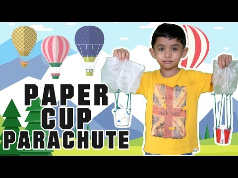 paper-cup-parachute-|-diy-crafts-for-kids-|-paper-cup-craft-ideas-for-kids