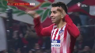 Golazo de Correa (3-0) Atlético de Madrid vs UE Sant Andreu