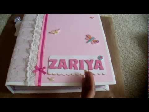 Scrapbooking Page Ideas For Baby Girl