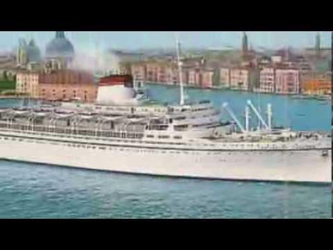 SS Cristoforo Colombo Italian Beauty YouTube - Columbo cruise ship