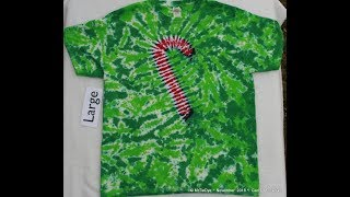 How to Tie Dye a Candy Cane Tee