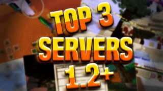 TOP 3 BEST WORKING SERVERS FOR MCPE 1.2+ [1.2.8] | PVP , MINIGAMES , FACTIONS , SKYWARS , ETC
