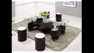 Glass Dining Tables & Leather Beds by Italian Furniture Store
