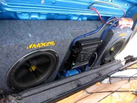 Loudest Nissan Hardbody Kicker System Ever Youtube