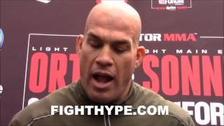 TITO ORTIZ TAKES SHOT AT JON JONES; INSISTS HE SET THE STAGE FOR MCGREGOR AND ROUSEY