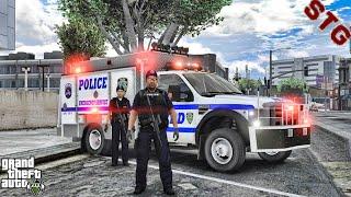 NYPD ESU| SWAT PATROL!!!| #112 (GTA 5 REAL LIFE PC POLICE MOD)