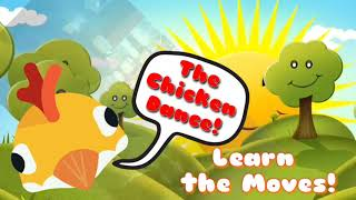 Chicken Dance - Learn the Moves - Preschool Song - Music Speeds Up!