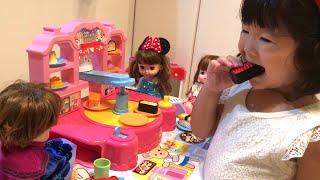 メルちゃんおもちゃ つくってまわしておすし屋さんごっこ お店屋さんごっこ Pretend Play as a Sushi Shop Toy