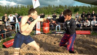 TOPGUN vs SAMBO Fighter !!! Fast K.O. !!!