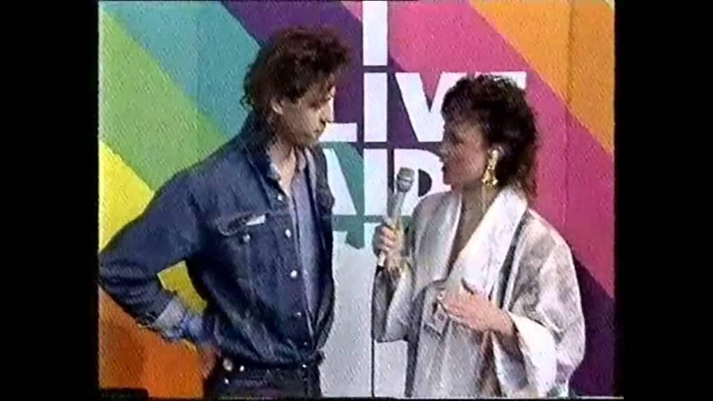 Bbc Interview Bob Geldof Bbc Live Aid 7 13 1985 Bob Geldof Bbc Live Interview
