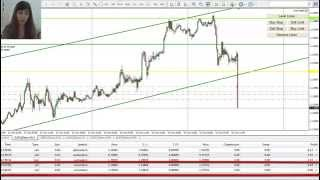 Forex System, Simple Trading Trend Channel, Real Time, 4 Pairs