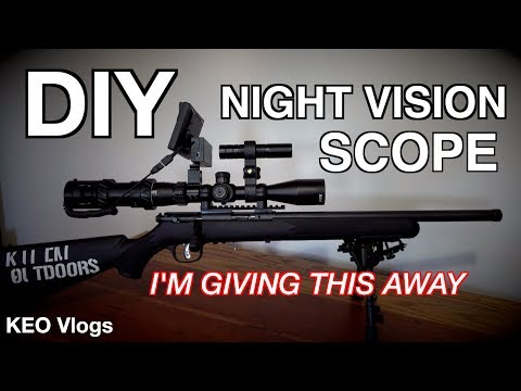 DIY Night Vision Scope Setup Off Amazon (Does It Work!?)