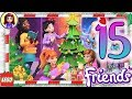 Day 15 Build your Christmas Tree Decorations - Lego Friends Advent Calendar 2018