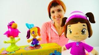 Видео для детей. Парикмахерская Play Doh. Игры для девочек
