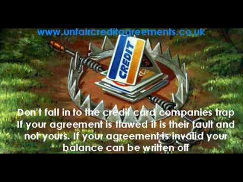 Unfair Credit Agreements - YouTube