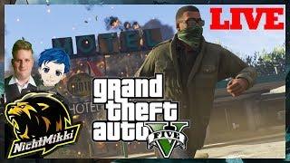 LIVE | Grand Theft Auto V Online Deutsch/German | Facecam | MAR-VEL | NichtMikki