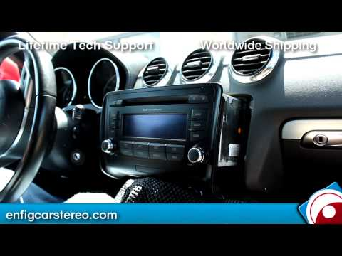 How-to Audi TT 2007-2011 Aux iPhone IPod Audio Adapter Dension GW17AC1