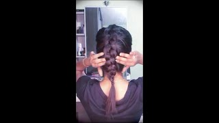 Reverse French Braid Tutorial | Hairworks By Maha