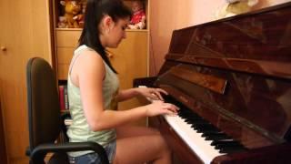 """Очень красивая мелодия (пианино)/ Мелодия из кинофильма """"Долгая дорога в дюнах"""""""