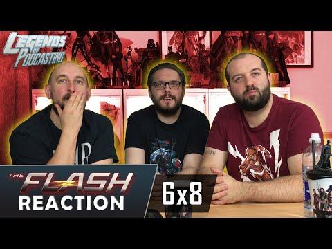 "The Flash Episode 6x8 ""The Last Temptation Of Barry Allen, Pt. 2"" Reaction   Legends Of Podcasting"