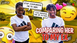COMPARING MY GIRLFRIEND TO MY EX FOR 24HRS!!!