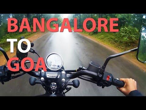 BANGALORE TO GOA by road !