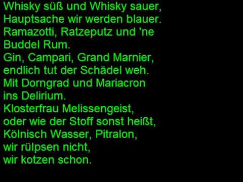 Otto Waalkes Wir Haben Grund Zum Feiern Mit Lyrics Youtube